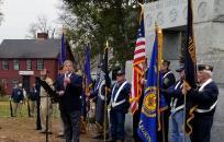 Senator Tarr speaking at Veterans Day Ceremony Ipswich, MA