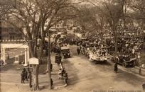 WWI Ipswich historic photo welcoming troops home